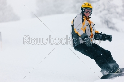 stock photo: snowboarder in the alps-Raw Stock Photo ID: 39333