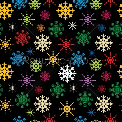 stock vector: snowflakes pattern-Raw Stock Photo ID: 25320