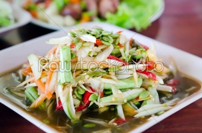 stock photo: som tam-Raw Stock Photo ID: 21049