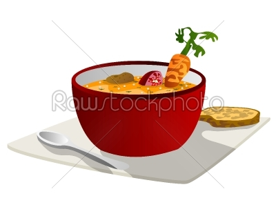 stock vector: soup graphic-Raw Stock Photo ID: 25327