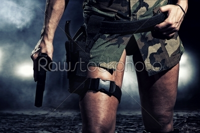 stock photo: special  tactics woman-Raw Stock Photo ID: 12838