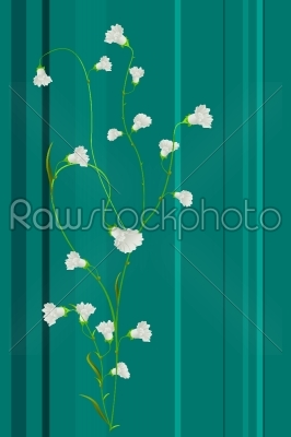 stock vector: spring floral print-Raw Stock Photo ID: 25343
