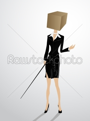 stock vector: square head -Raw Stock Photo ID: 25345