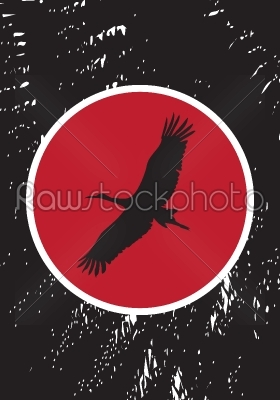 stock vector: stork stamp-Raw Stock Photo ID: 25297