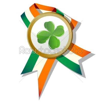 stock vector: stpatrick badge-Raw Stock Photo ID: 25347