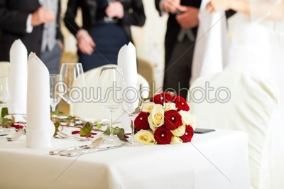 stock photo: table at a wedding feast-Raw Stock Photo ID: 41615