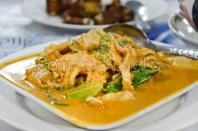 stock photo: thai cuisine-Raw Stock Photo ID: 19507