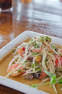 stock photo: thai dish-Raw Stock Photo ID: 22428