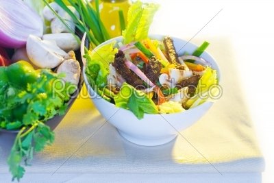 stock photo: thai salad-Raw Stock Photo ID: 37745
