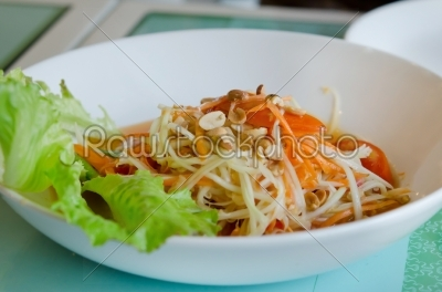 stock photo: thai spicy salad-Raw Stock Photo ID: 21517