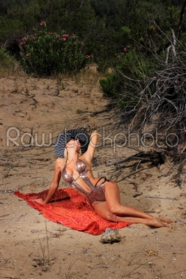 stock photo: the beautiful bikini model -Raw Stock Photo ID: 13012