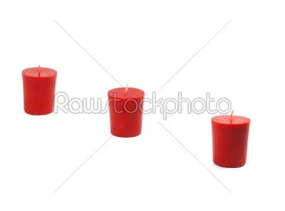 stock photo: three candles-Raw Stock Photo ID: 30705