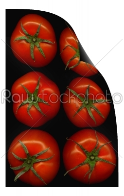 stock photo: tomatoes curl distortion-Raw Stock Photo ID: 36875