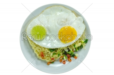 stock photo: top view instant noodles-Raw Stock Photo ID: 26653