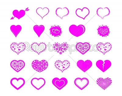 stock vector: valentine heart-Raw Stock Photo ID: 27611