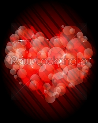 stock vector: valentines day heart-Raw Stock Photo ID: 25054