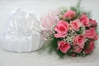 stock photo: wedding bouquet of roses-Raw Stock Photo ID: 28103
