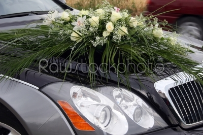 stock photo: wedding car decoration-Raw Stock Photo ID: 28325