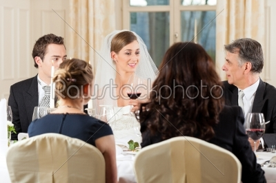 stock photo: wedding party at dinner-Raw Stock Photo ID: 41643