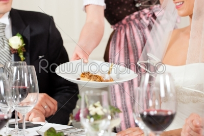 stock photo: wedding party at dinner-Raw Stock Photo ID: 41657