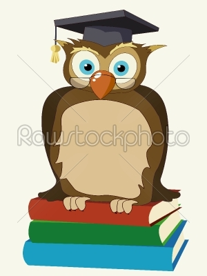 stock vector: wise owl-Raw Stock Photo ID: 24969