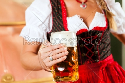 stock photo: woman with beer glass in brewery-Raw Stock Photo ID: 43219