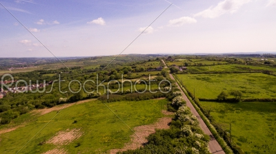 stock photo: aerial countryside-Raw Stock Photo ID: 75015