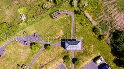 stock photo: aerial view of a park-Raw Stock Photo ID: 74973
