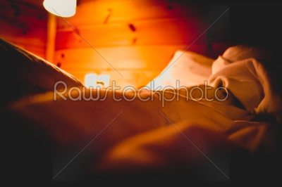 stock photo: bedroom in a romantic atmosphere-Raw Stock Photo ID: 75169