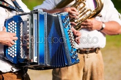 stock photo: brass band in bavaria-Raw Stock Photo ID: 50039