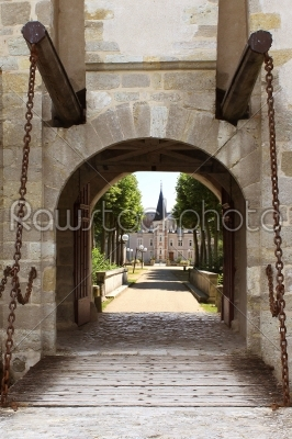 stock photo: bridge castle-Raw Stock Photo ID: 53143