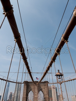 stock photo: brooklyn bridge nyc-Raw Stock Photo ID: 75006