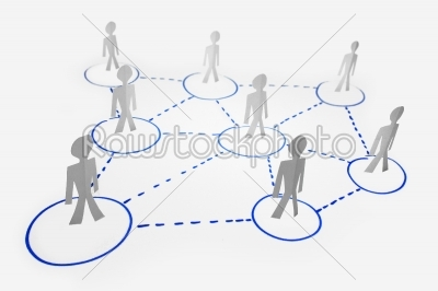 stock photo: business network concept-Raw Stock Photo ID: 61139