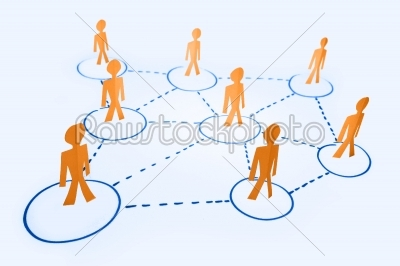 stock photo: business network concept-Raw Stock Photo ID: 61140