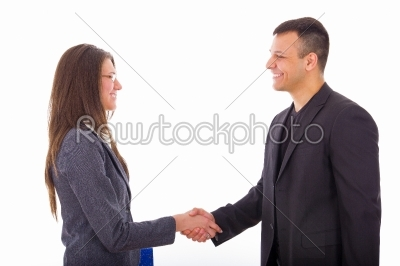 stock photo: business people shaking hands-Raw Stock Photo ID: 52531