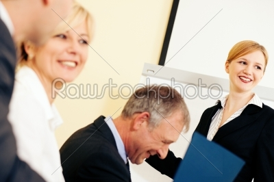stock photo: business presentation in meeting-Raw Stock Photo ID: 49986