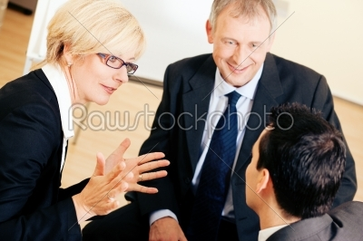 stock photo: business team discussing a project-Raw Stock Photo ID: 49926