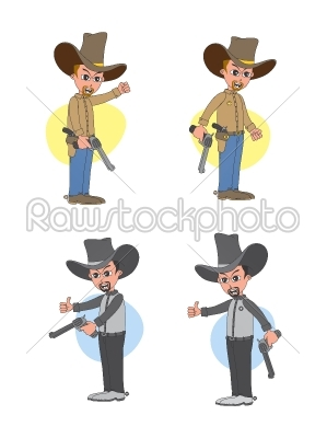 stock vector: cartoon character-Raw Stock Photo ID: 68928