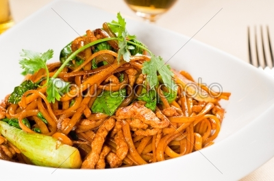 stock photo: chinese fried noodles-Raw Stock Photo ID: 54248