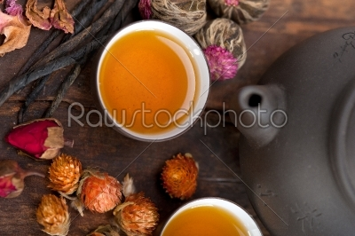 stock photo: chinese style herbal floral tea-Raw Stock Photo ID: 63734
