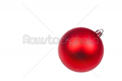 stock photo: christmas bauble-Raw Stock Photo ID: 66494