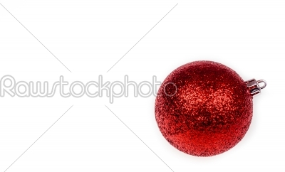 stock photo: christmas bauble-Raw Stock Photo ID: 66495