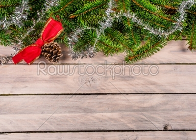 stock photo: christmas decoration with a pine cone-Raw Stock Photo ID: 66160
