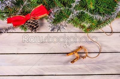 stock photo: christmas decoration with a straw goat-Raw Stock Photo ID: 66161