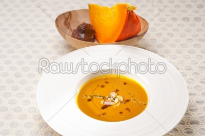 stock photo: classic pumpkin soup-Raw Stock Photo ID: 59633