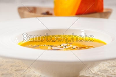 stock photo: classic pumpkin soup-Raw Stock Photo ID: 59636