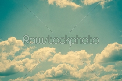 stock photo: clouds on a fresh blue sky-Raw Stock Photo ID: 69770