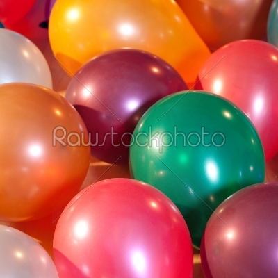 stock photo: colorful balloons at a party -Raw Stock Photo ID: 51296