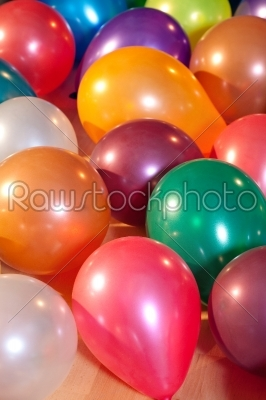 stock photo: colorful balloons at a party -Raw Stock Photo ID: 51297