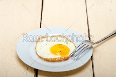 stock photo: egg sunny side up-Raw Stock Photo ID: 64593